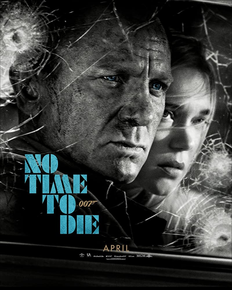 Daniel Craig and Léa Seydoux in No Time to Die (2020)