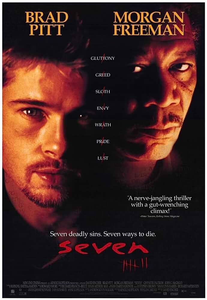Seven (1995) Hindi Dubbed