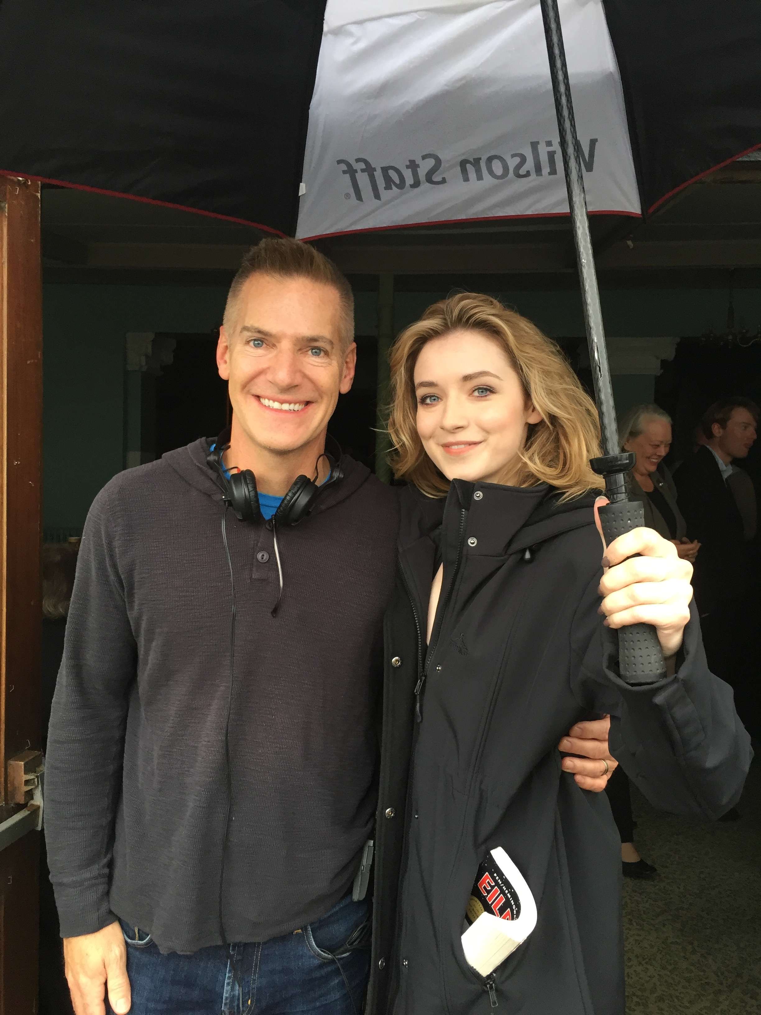 Sarah Bolger and Michael Armbruster