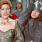 Luisa de Córdoba and Sara Montiel in Mi último tango (1960)