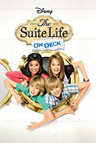 Brenda Song, Dylan Sprouse, and Debby Ryan in The Suite Life on Deck (2008)