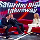 Geri Horner, Declan Donnelly, and Anthony McPartlin in Ant & Dec's Saturday Night Takeaway (2002)