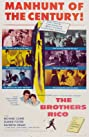 The Brothers Rico (1957) Poster