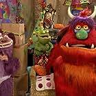 Don Austen, David Collins, Sean Masterson, Heath McIvor, Fiona Gentle, Matthew McCoy, David Collins, and Alice Osborne in Me & My Monsters (2010)