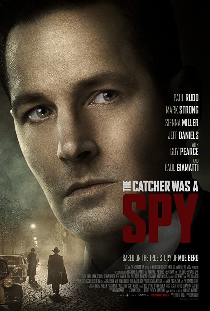 Jeff Daniels, Guy Pearce, Paul Giamatti, Paul Rudd, Mark Strong, and Sienna Miller in The Catcher Was a Spy (2018)