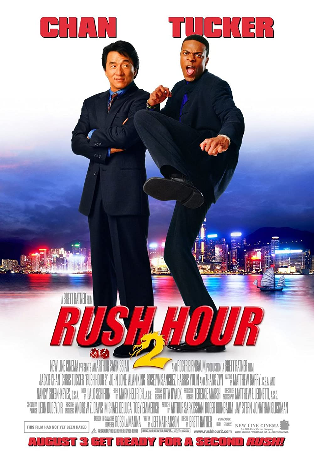 Rush Hour 2 2001 Dual Audio Hindi 720p BluRay ESub 650MB Download