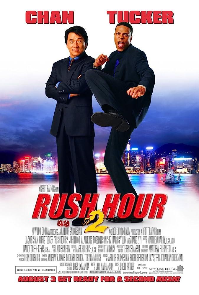 Rush Hour 2 Hindi (2001) 720p BRRip Dual Audio thumbnail