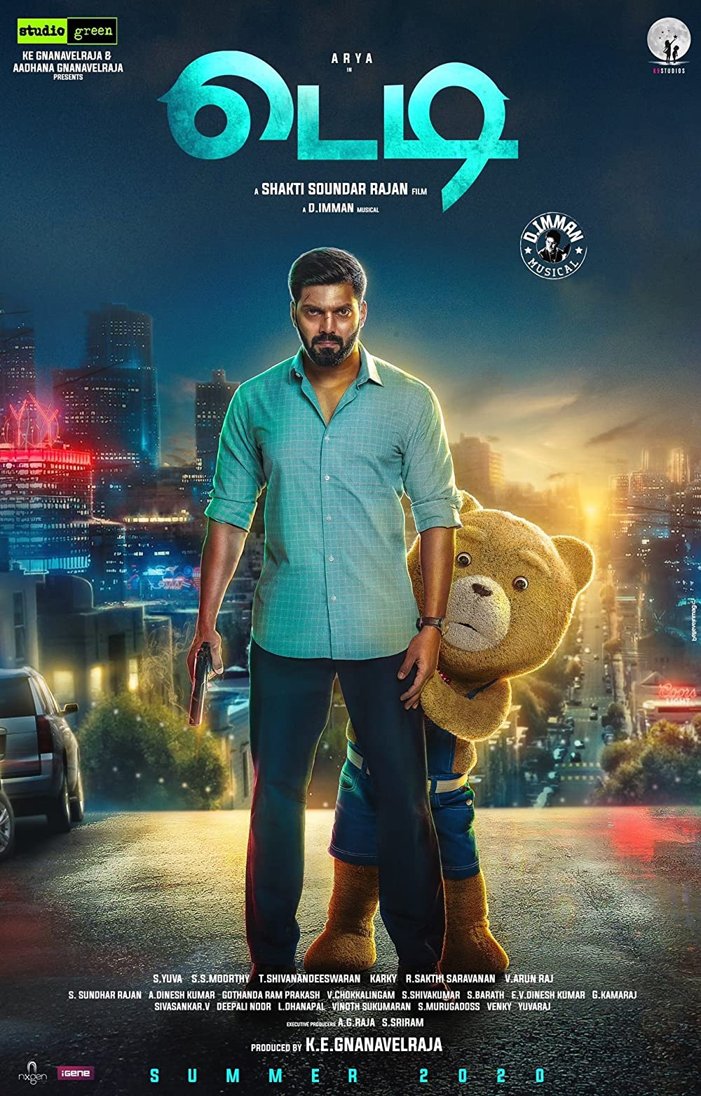 Teddy 2021 Tamil Official Trailer 1080p HDRip 20MB Download