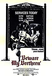 Beware My Brethren (1972) Poster - Movie Forum, Cast, Reviews