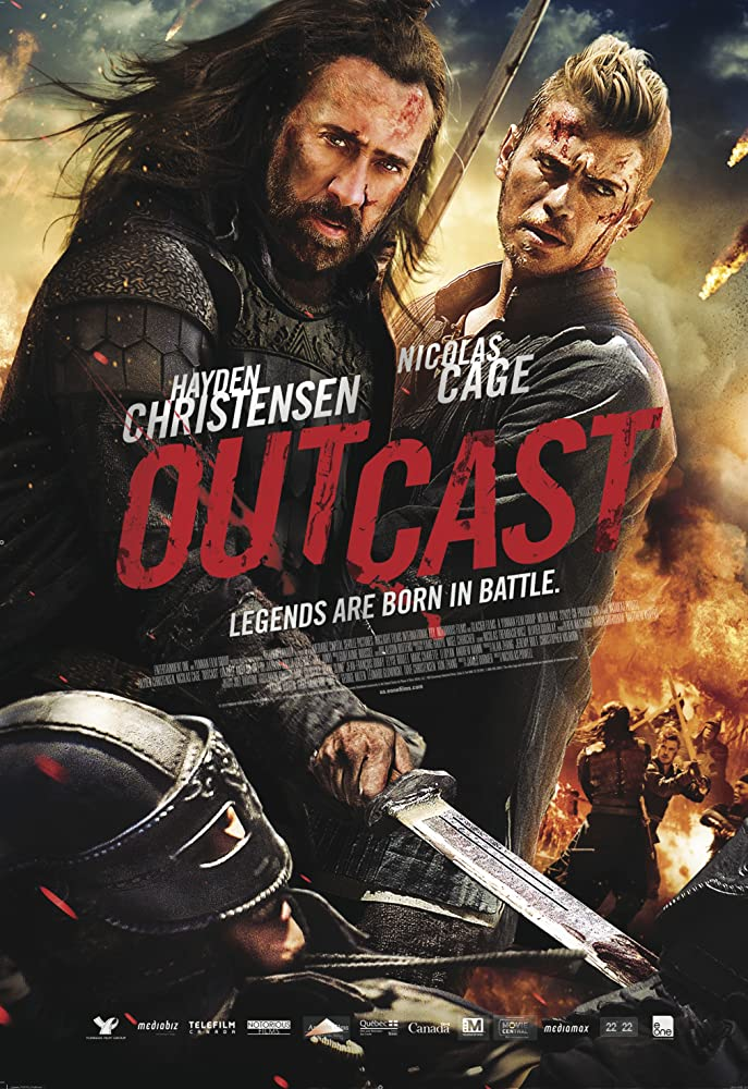 Outcast 2014 Hindi Dual Audio 300MB BluRay ESubs Download