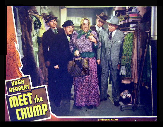 Hugh Herbert, Lewis Howard, Shemp Howard, and Richard Lane in Meet the Chump (1941)