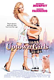 Brittany Murphy and Dakota Fanning in Uptown Girls (2003)