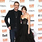 Dakota Johnson and Jason Segel at an event for Our Friend (2019)