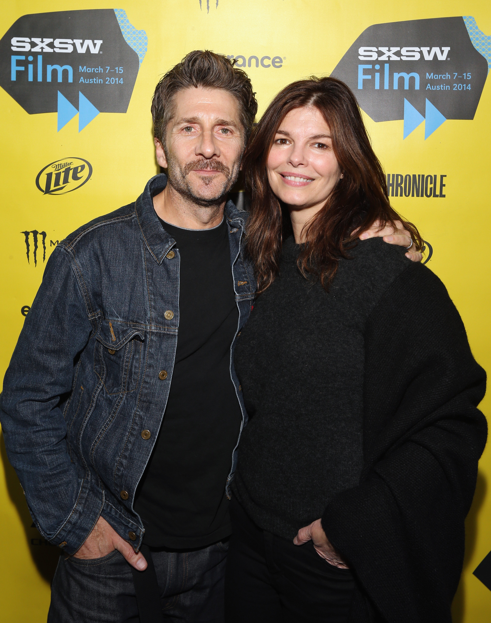 Jeanne Tripplehorn and Leland Orser at an event for Faults (2014)