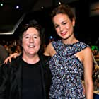 Brie Larson and Christine Vachon at an event for 31st Film Independent Spirit Awards (2016)