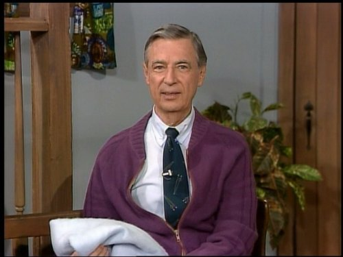 Fred Rogers in Mister Rogers' Neighborhood (1968)