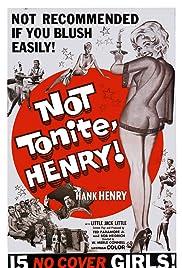 Not Tonight Henry Poster