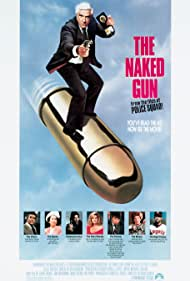 Leslie Nielsen, George Kennedy, Ricardo Montalban, Priscilla Presley, O.J. Simpson, Jeannette Charles, Reggie Jackson, and Nancy Marchand in The Naked Gun: From the Files of Police Squad! (1988)