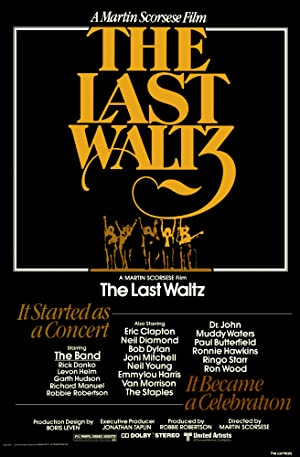 Where to stream The Last Waltz