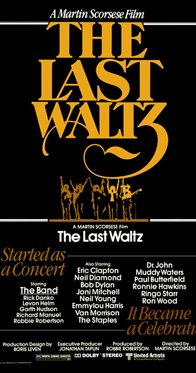The Last Waltz (1978) - Soundtracks - IMDb