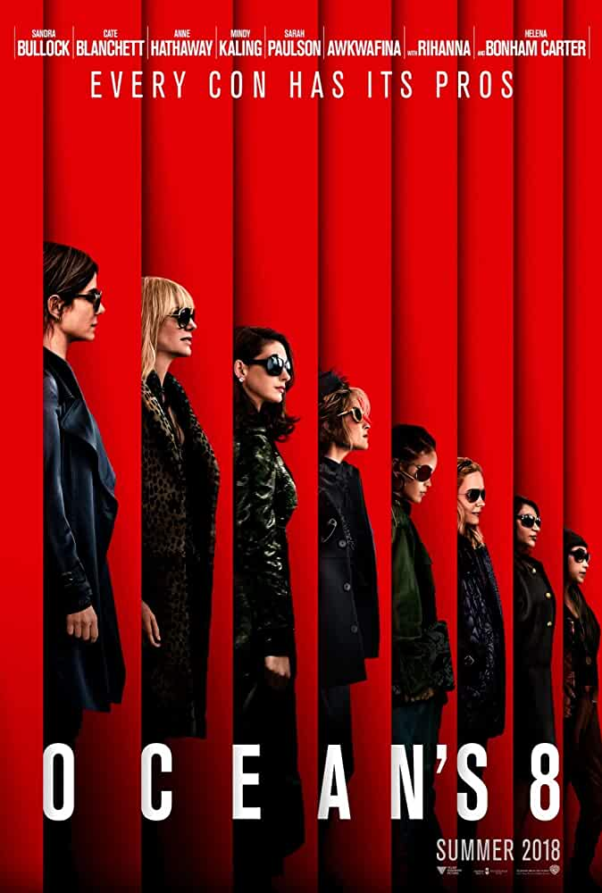 Oceans 8 (2018) WEB-DL English Movie With ESubs In 720p | 900MB | Download | Watch Online |