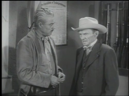 Tristram Coffin and William Fawcett in 26 Men (1957)