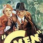 James Cagney and Margaret Lindsay in 'G' Men (1935)