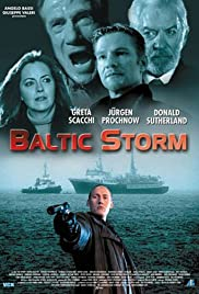 Baltic Storm Poster
