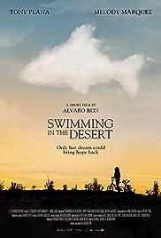 Swimming in the Desert Poster
