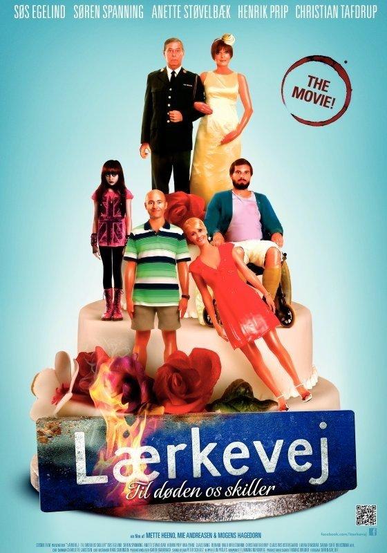 Søs Egelind, Henrik Prip, Søren Spanning, Anette Støvelbæk, Christian Tafdrup, and Bebiane Ivalo Kreutzmann in Lærkevej - til døden os skiller (2012)