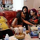 Maria Acero, Maria Liatis, Selena Anduze, Michelle Acero, Courtney Arlett, and Michelle Hammonds in Sunday Mornings (2021)