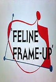 Feline Frame-Up Poster