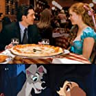 Patrick Dempsey, Amy Adams, Barbara Luddy, and Larry Roberts in Lady and the Tramp (1955)