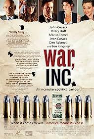 John Cusack, Joan Cusack, Marisa Tomei, Ben Kingsley, and Hilary Duff in War, Inc. (2008)