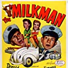 Piper Laurie, Jimmy Durante, Joyce Holden, and Donald O'Connor in The Milkman (1950)