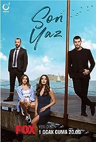 Hafsanur Sancaktutan, Ali Atay, Funda Eryigit, and Alperen Duymaz in Son Yaz (2021)