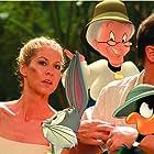 Brendan Fraser, Jenna Elfman, June Foray, and Joe Alaskey in Looney Tunes: Back in Action (2003)