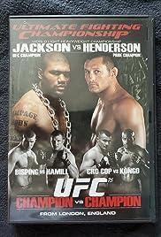 UFC 75: Champion vs. Champion Poster