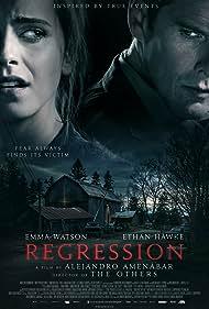 Ethan Hawke and Emma Watson in Regression (2015)