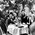 Oliver Hardy, Iris Adrian, Lona Andre, Betty Brown, Stan Laurel, and Daphne Pollard in Our Relations (1936)