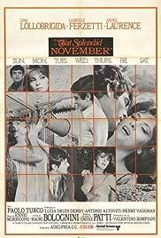 That Splendid November Poster