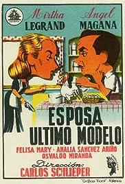 Esposa último modelo Poster