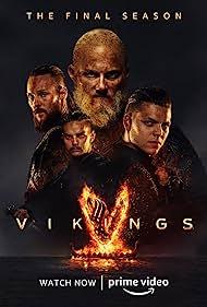 Alexander Ludwig and Alex Høgh Andersen in Vikings (2013)