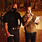 Dwayne Johnson and Rawson Marshall Thurber in Red Notice (2021)