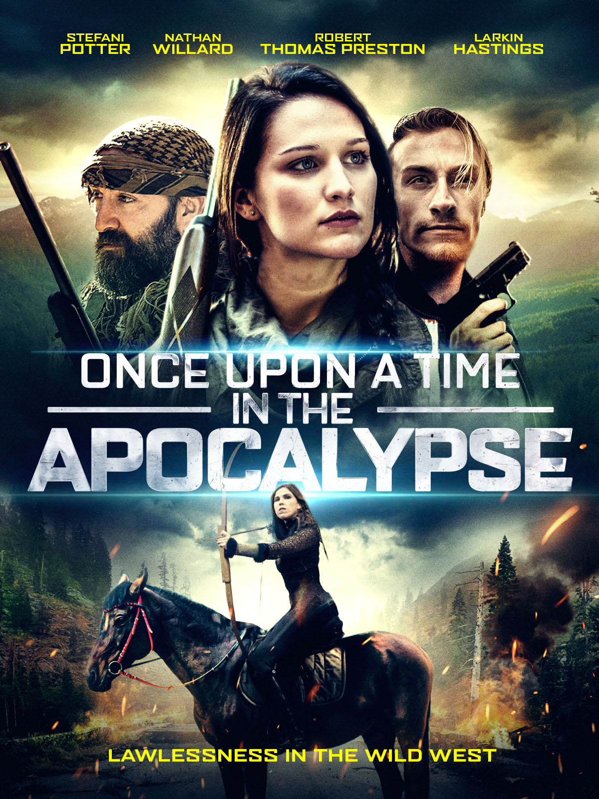 Once Upon A Time In The Apocalypse (2019) Telugu Dubbed (Voice Over) [Dual Audio] WebRip 720p [1XBET]