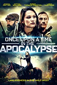 Robert Thomas Preston, Nathan Willard, Larkin Hastings, and Stefani Somers in Once Upon a Time in the Apocalypse (2021)