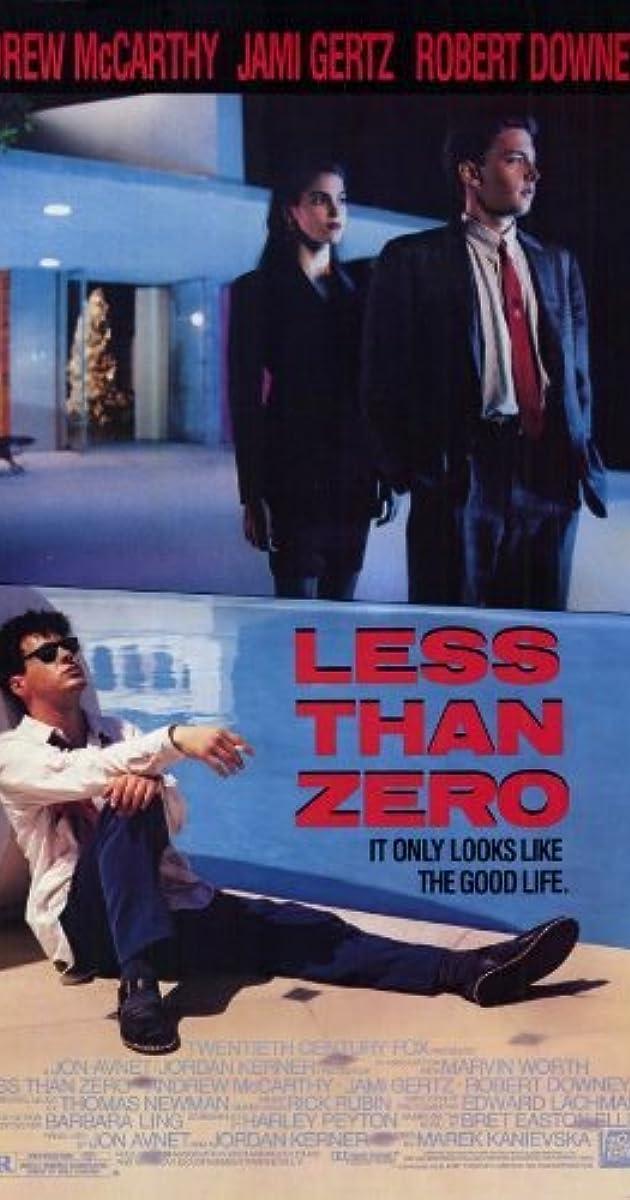 Subtitle of Less Than Zero