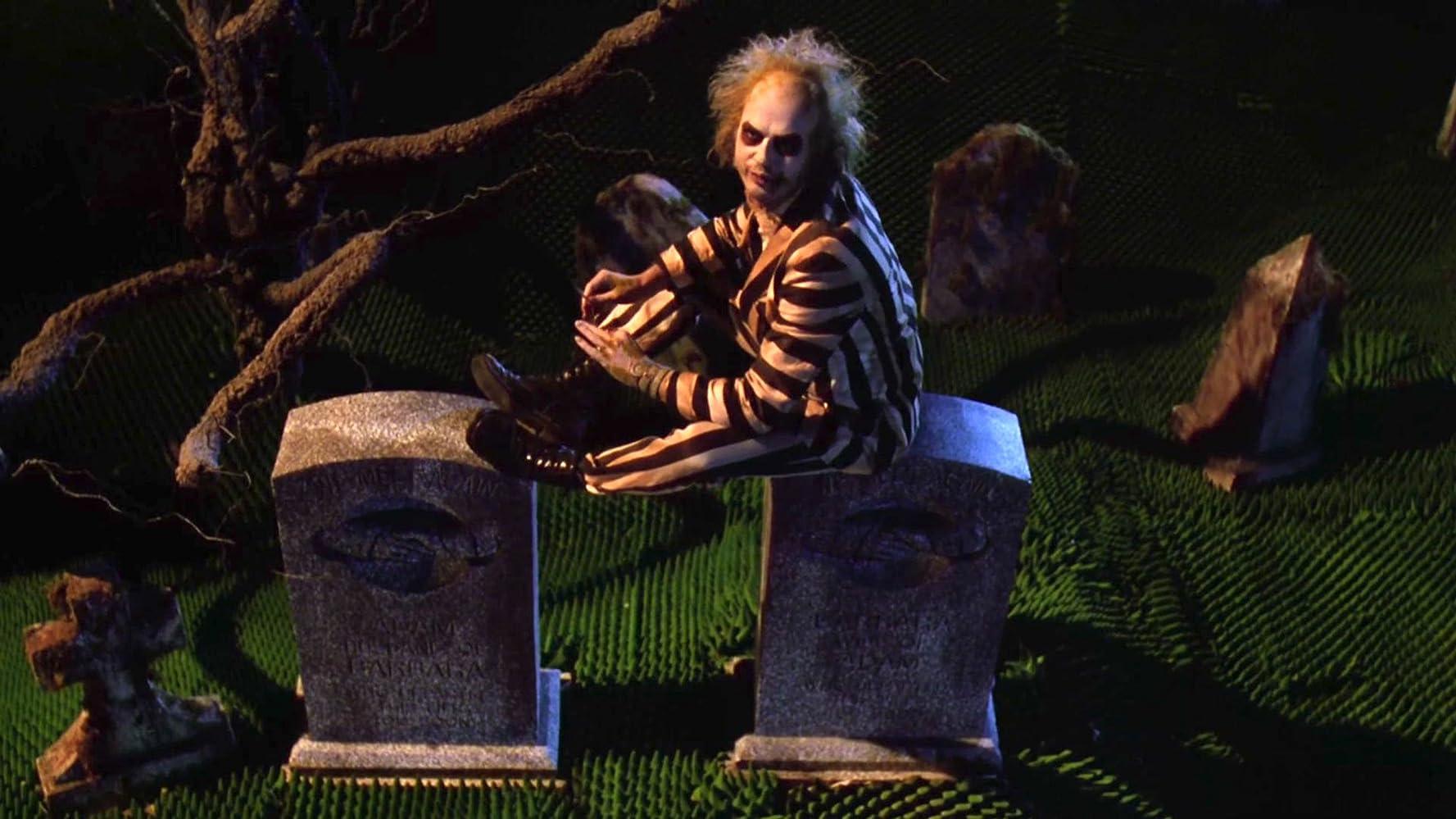 Michael Keaton in Beetlejuice (1988)