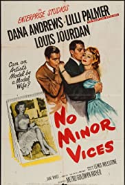 No Minor Vices (1948) Poster - Movie Forum, Cast, Reviews