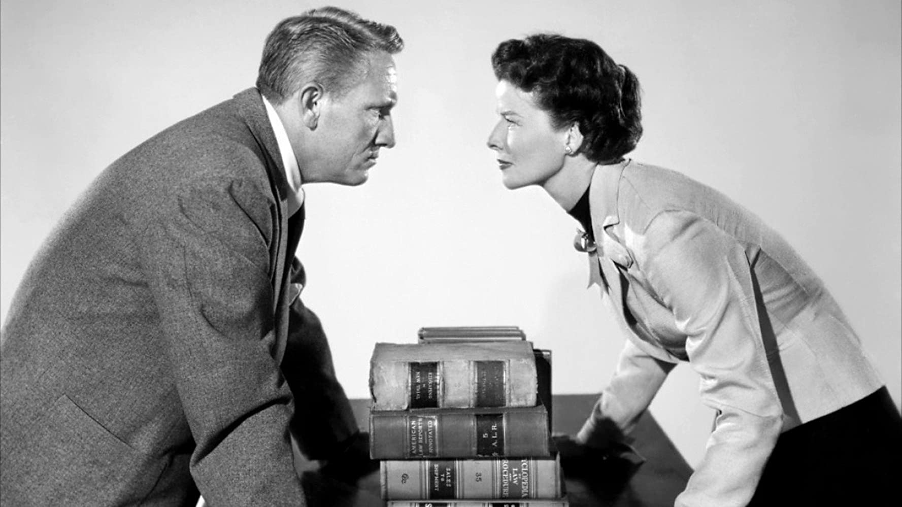 Katharine Hepburn and Spencer Tracy in Adams Rib 1949